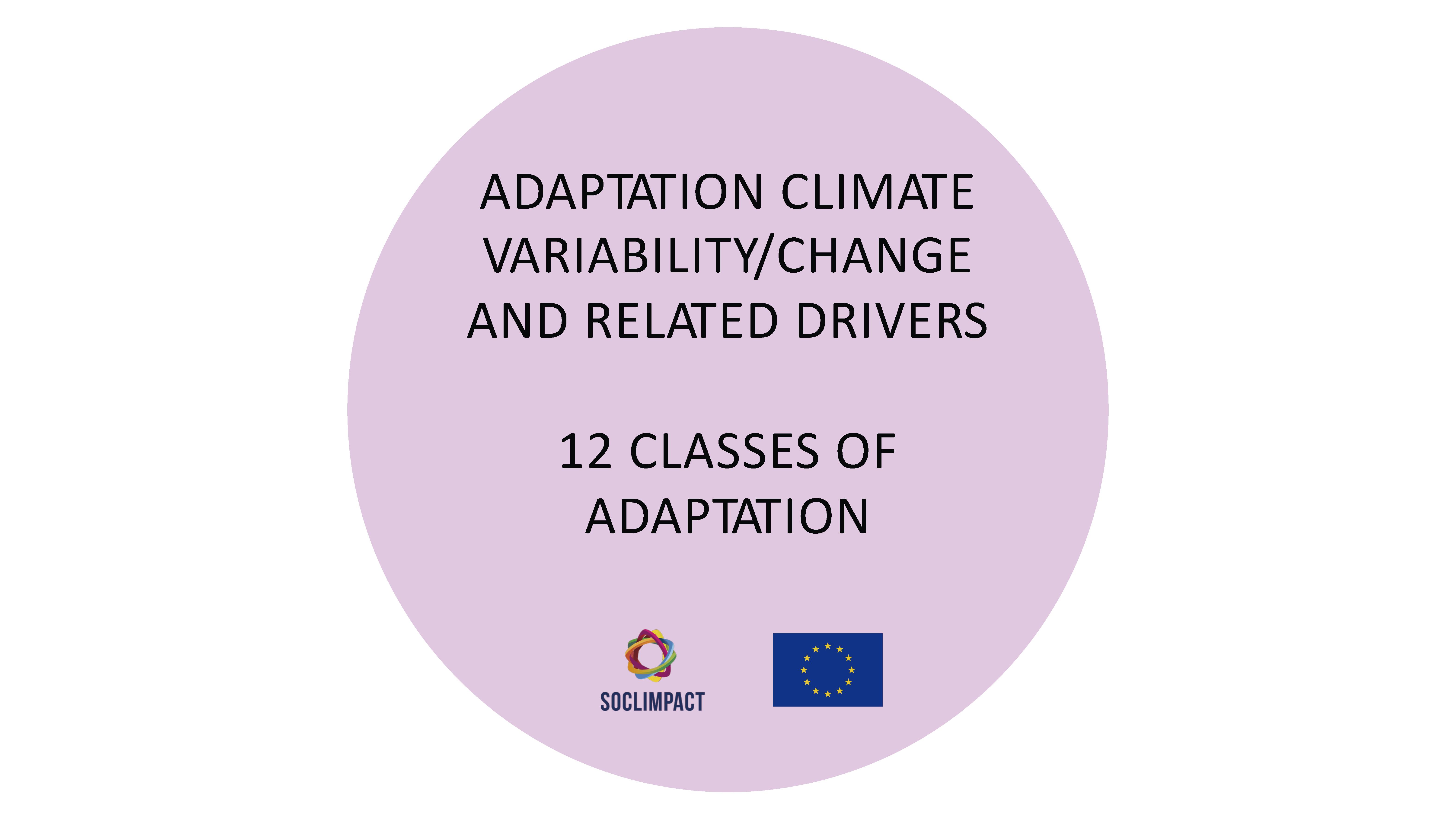 Classes of Adaptation