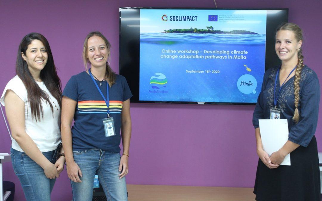 Online Regional Workshop: Co-developing sector adaptation pathways in Malta