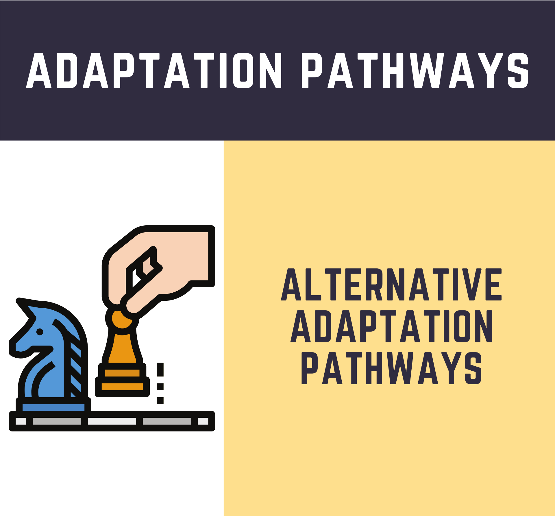 Alternative Adaptation Pathways for the Islands