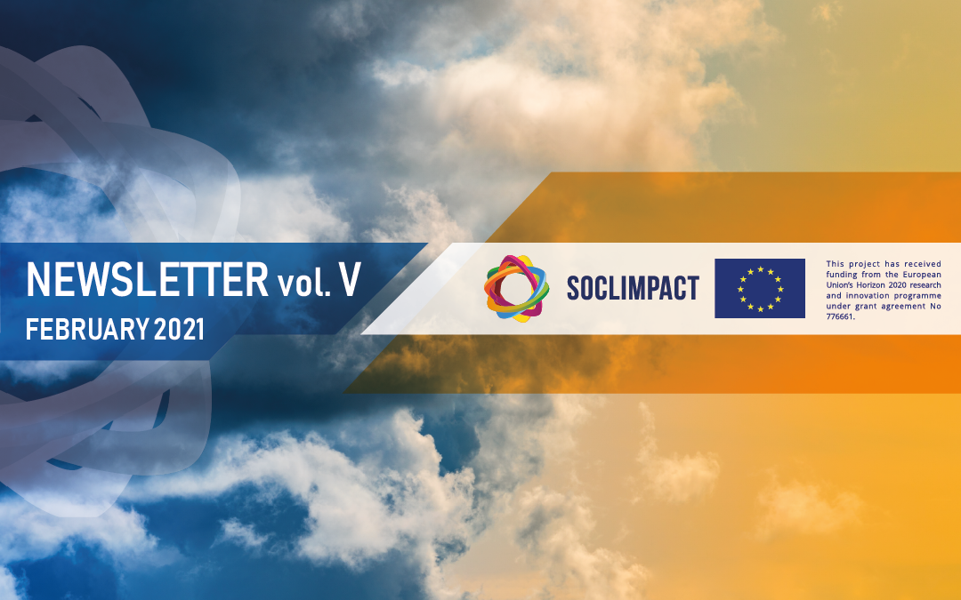 SOCLIMPACT'S FIFTH NEWSLETTER ISSUED!